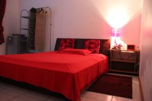 chambre d'hôte, tiboug, saint denis, réunion, rouge, maison
